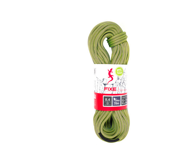 Fixe Fanatic Rope 8,4mm x 60m neon yellow/violet
